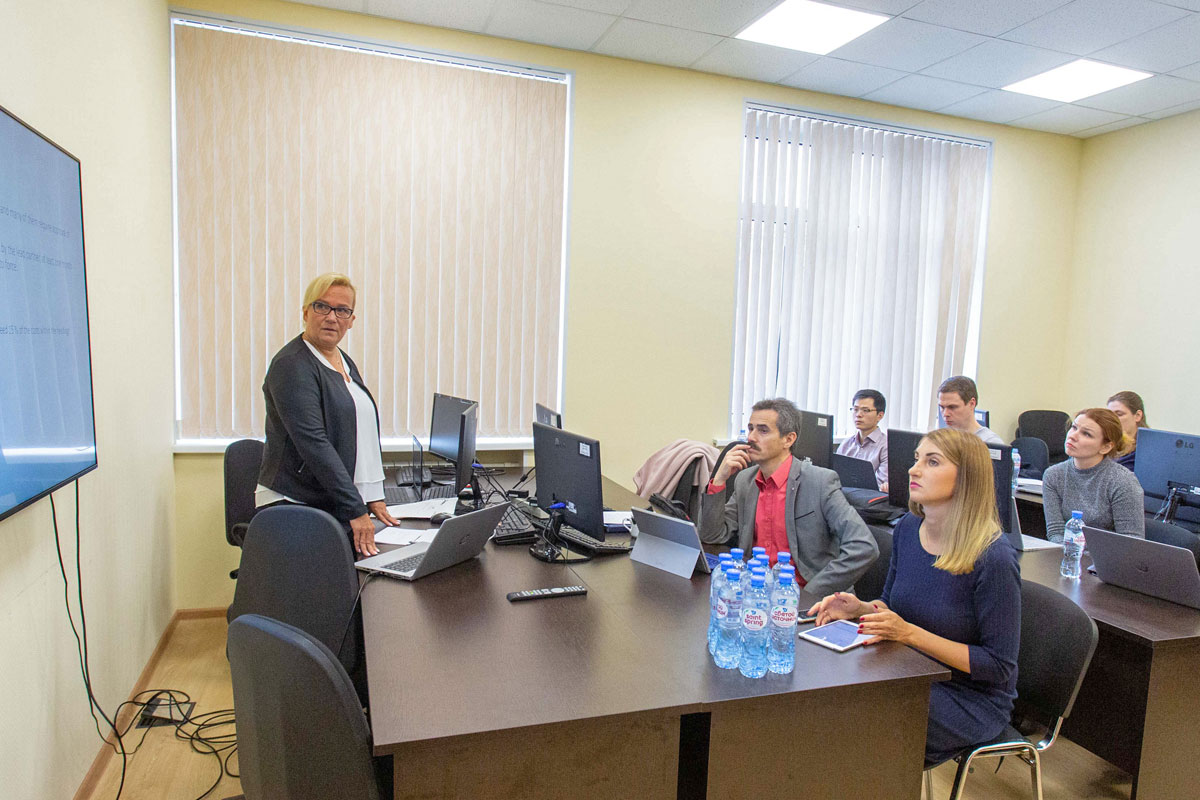St. Petersburg State Marine Technical University hosted a workshop on the